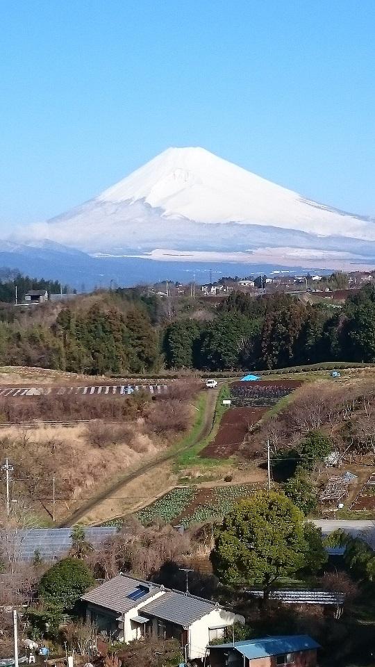 富士山3月